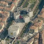 Theatre de Nice & MAMAC (Birds Eye)