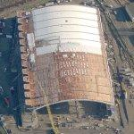 Richmond Olympic Oval under construction