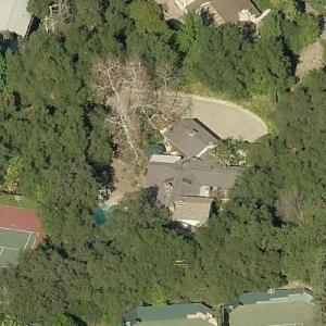 Selena Gomez's House (Former) (Birds Eye)
