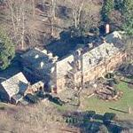 James S. Rockefeller & Nancy Carnegie's House (former) (Birds Eye)