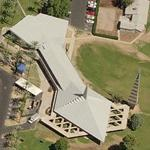 'First Christian Church' by Frank Lloyd Wright (Birds Eye)
