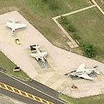 F-4, A-4B and A-7 on static display (Birds Eye)