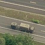 Dutch Military Convoy (Birds Eye)