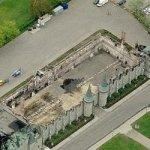 Remains of Quebec City Armoury (Birds Eye)