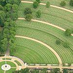 US Military Cemetery Madingley England (Bing Maps)