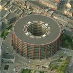 Gasometer converted into apartment building