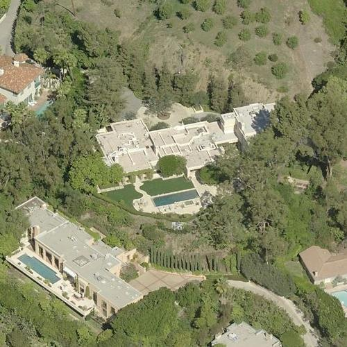 David overton 39 s house in beverly hills ca google maps for Beverly hills celebrity homes map