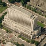 U.S. Court House (Los Angeles) (Birds Eye)