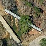 Clarkson–Legg Covered Bridge (Birds Eye)