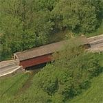 Leaman's Place Covered Bridge (Birds Eye)