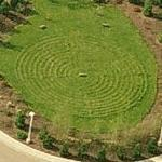 New Life Church Labyrinth (Birds Eye)