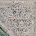 Anderson Farms Corn Maze (Bing Maps)