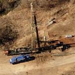 Oil drilling (Birds Eye)