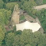 Castle Wilhelmstein (ruin) (Birds Eye)