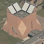 'Church in Seriate' by Mario Botta (Birds Eye)