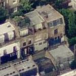 Paula Yates' House (Former) (Birds Eye)