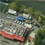 Fake McDonalds for filming ads (Bing Maps)