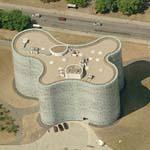 'Brandenburg Technical University Library' by Herzog and De Meuron (Birds Eye)