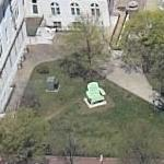 Big Green Chair (without Horse) (Bing Maps)