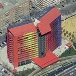 'Puerta America Hotel' by SGA Studio (Birds Eye)