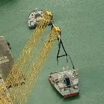 Treasure (Semi-submersible heavy transport vessel) (Birds Eye)