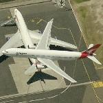 Airbus A330 (Qantas) (Birds Eye)