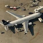 Boeing 767 in Star Alliance livery (LOT - Polish Airlines) (Birds Eye)
