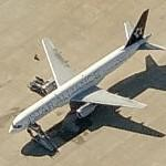 Boeing 757 in Star Alliance livery (US Airways) (Birds Eye)