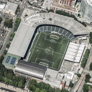 Providence Park (Bing Maps)