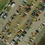 Car show at Daytona Speedway (Bing Maps)