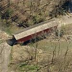 Everett Road Covered Bridge (Birds Eye)