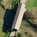 Bigelow Covered Bridge (Birds Eye)