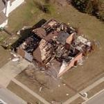 Burned House (Birds Eye)