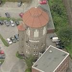 Water Tower at Osnabrück Central Station (Birds Eye)