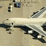 Boeing 747 (Saudi Arabian Airlines Cargo) (Birds Eye)