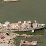USNS Vandenberg (Missile Range Instrumentation Ship) (Birds Eye)