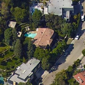 Kim Kardashian's House (former) (Birds Eye)