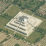 Cimitero Maggiore - Grand Cemetery - New Section (Birds Eye)
