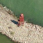 Racine Breakwater Lighthouse (Bing Maps)