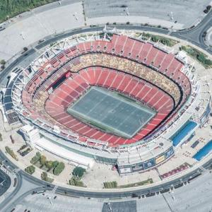 FedExField (Birds Eye)