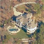 Jeff Gordon's house (Birds Eye)