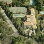 O.J. Simpson's House (former) (Birds Eye)
