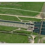Agigea sluice (Bing Maps)