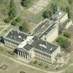 Peter A. B. Widener's House (Former) AKA Lynnewood Hall (Birds Eye)