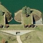 'Geier House' by Philip Johnson (Birds Eye)
