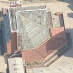 """Seeley Historical Library"" by Sir James Stirling (Birds Eye)"