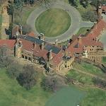 Matilda Dodge Wilson's House (Former) AKA Meadow Brook Hall (Birds Eye)