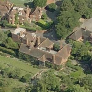 "Jimmy Page's House ""Deanery Garden"" (Birds Eye)"