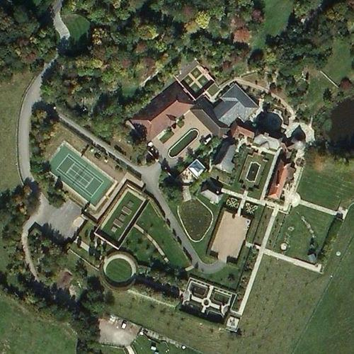 Lisa Marie Presley's House (Bing Maps)