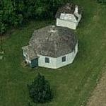 Octagonal Schoolhouse (Bing Maps)